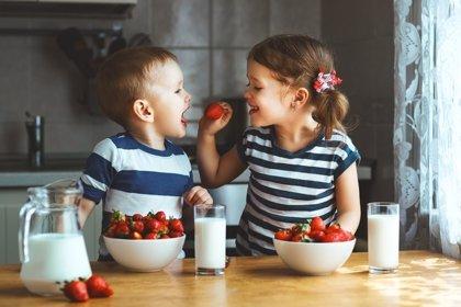 Una alimentación saludable, ligada a la felicidad de los niños