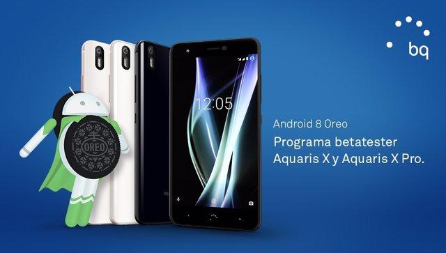 Android 8.0 Oreo en Aquaris X y X Pro