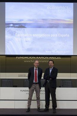Pedro Linares y Xavier Labandeira, autores del informe Economics for Energy