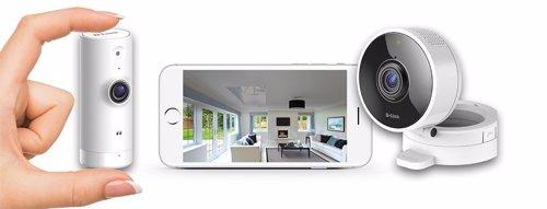 Nuevas cámaras de videovigilancia de D-Link