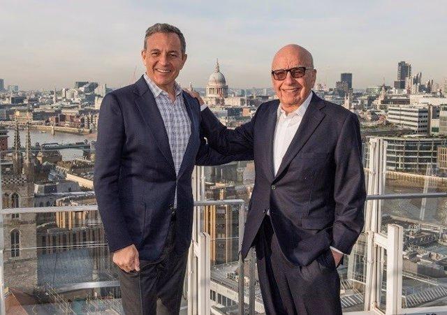 Rupert Murdoch  Y Bob Iger