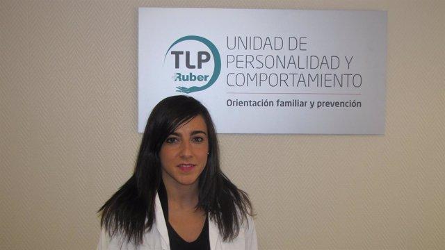 Elena Santos, psicóloga de la Unidad especialist
