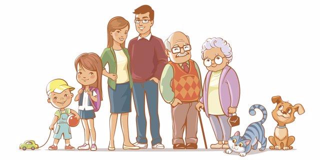 La familia y el descenso demográfico