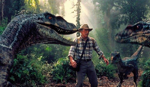 Sam Neill en Jurassic Park