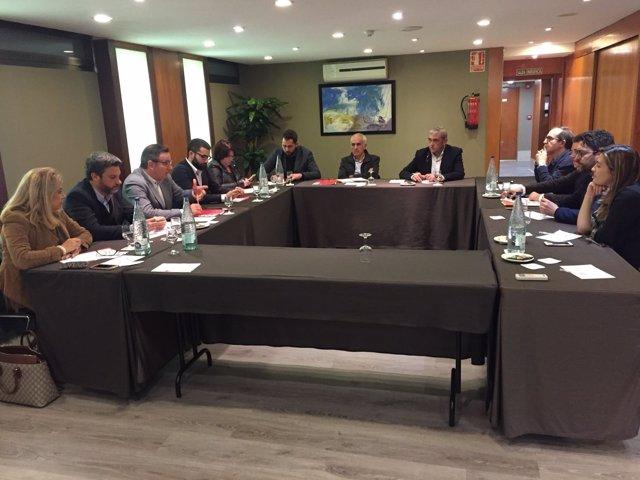 REUNION CIUDADANOS Y PSOE
