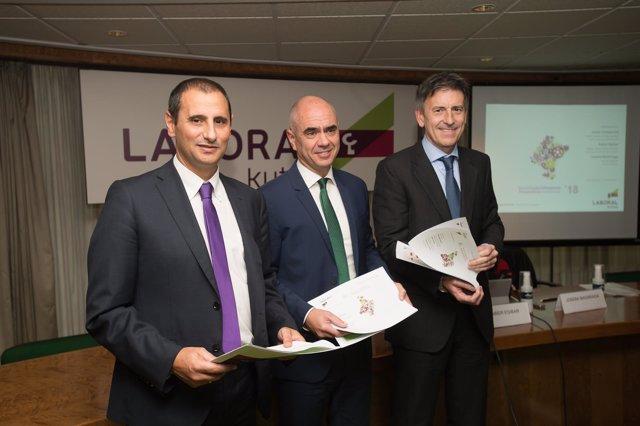 Presentación del estudio 'Perspectivas económicas'18' de Laboral Kutxa