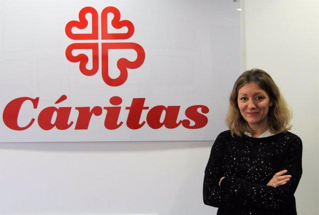 Natailia Peiro, secretaria general de Cáritas Española