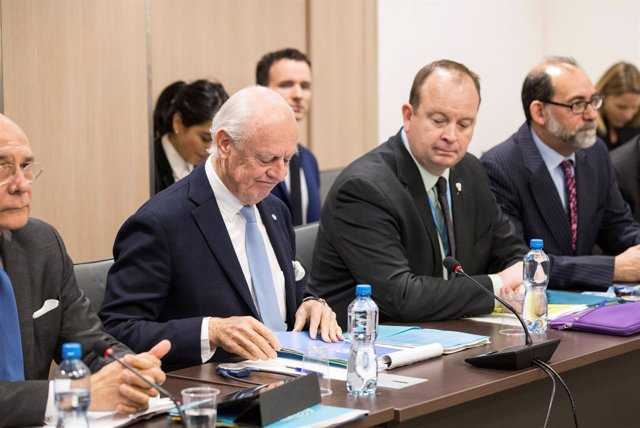 Conversaciones de paz de Siria en Ginebra