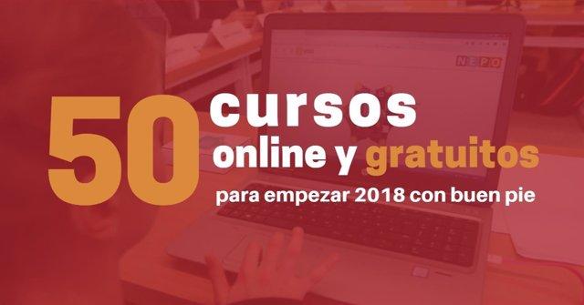 Cursos gratis online 2018