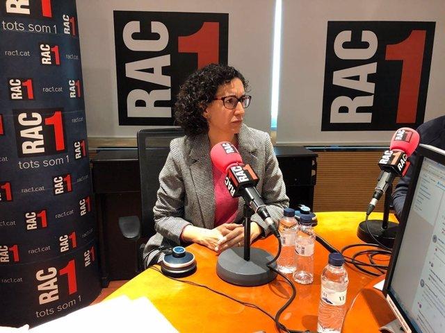Marta Rovira (ERC) en Rac1