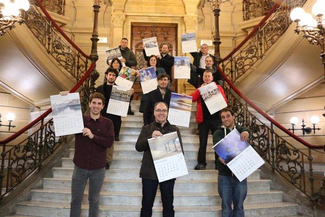 Calendario municipal 2018 de San Sebastián.