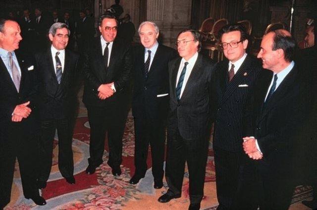 Padres de la Constitución Española de 1978