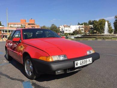 Sale a subasta uno de los primeros coches personales del rey Felipe VI, un volvo
