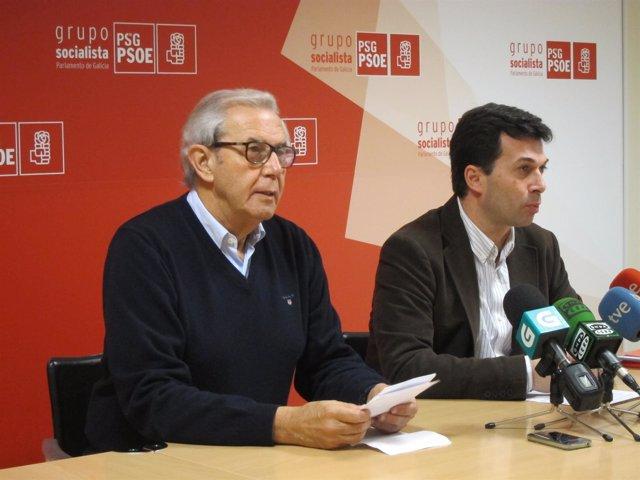 Touriño y Gonzalo Caballero
