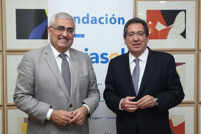 Antonio Ramírez de Arellano y Antonio Pulido.
