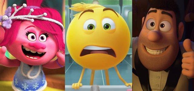 Trolls: Días de fiesta, Emoji: La película, Tadeo Jones 2