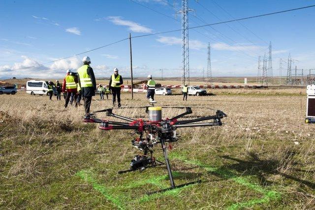 Imagen de los drones