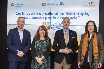 Los fisioterapeutas madrileños crean la primera certificación de calidad en Fisioterapia en España