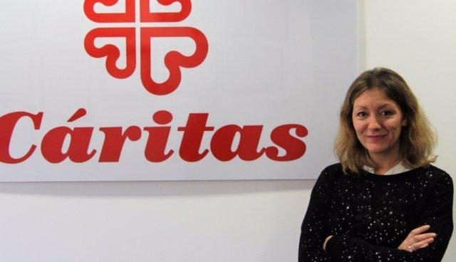 Natalia Cáritas, secretaria general de  Cáritas