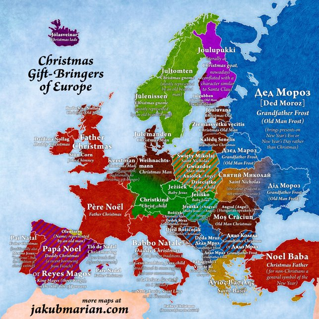 christmas-gift-bringers-europe