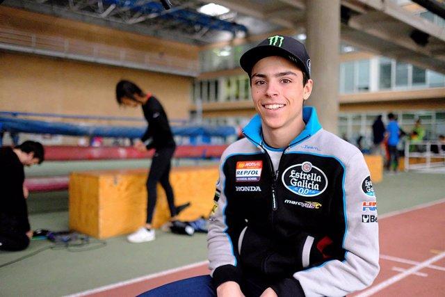 El nuevo piloto del equipo de Moto3 Estrella Galicia 0,0, Alonso López