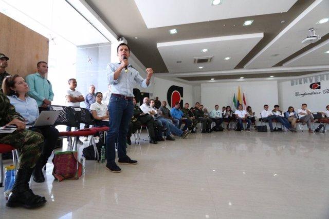 Ministror de Interior de Colombia