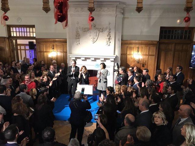 Cena de Navidad del PP en el Palacio de La Magdalena