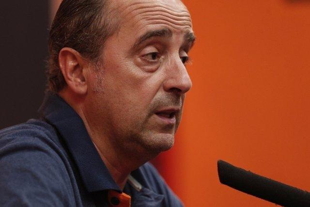 Txus Vidorreta, entrenador del Valencia Basket