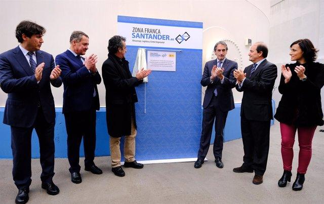 Inauguración de los nuevos tanques de la Zona Franca de Santander