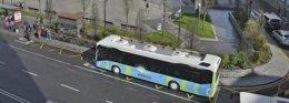 Autobús híbrido del TUS
