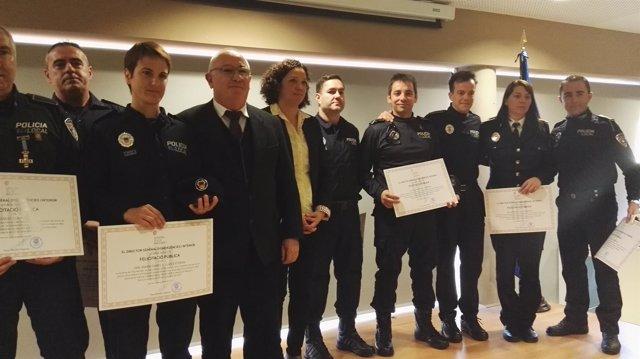 Cladera reconoce el servicio de la Policía Local de Ibiza, 'un cuerpo imprescindible' en la isla
