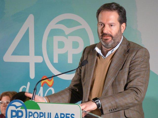 El presidente del PP de Córdoba, Adolfo Molina