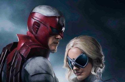 Primera imagen de Halcón y Paloma en Titanes de DC