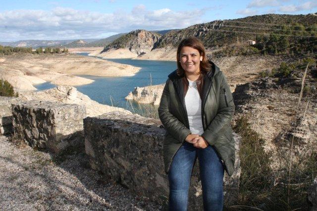 Agustina en Entrepeñas