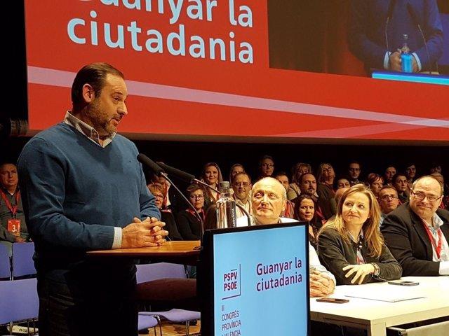 El socialista, en su discurso