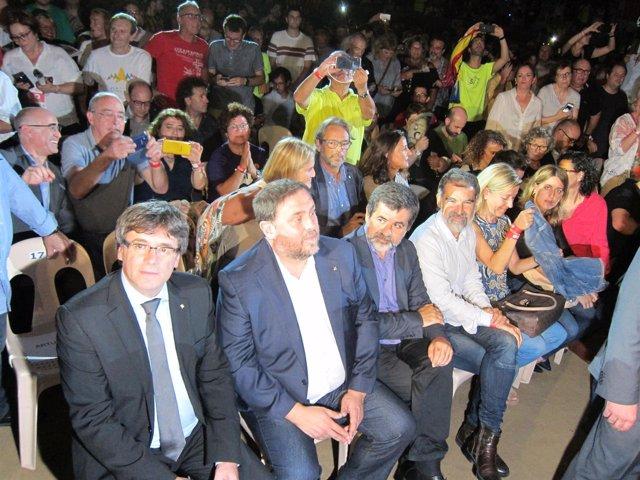 Pt.C.Puigdemont, O.Junqueras, J.Sànchez, J.Cuixart