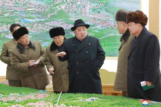 El norcoreano Kim Yong Un