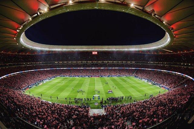 Wanda Metropolitano, primer estadio 100% IP de Europa gracias a Telefónica
