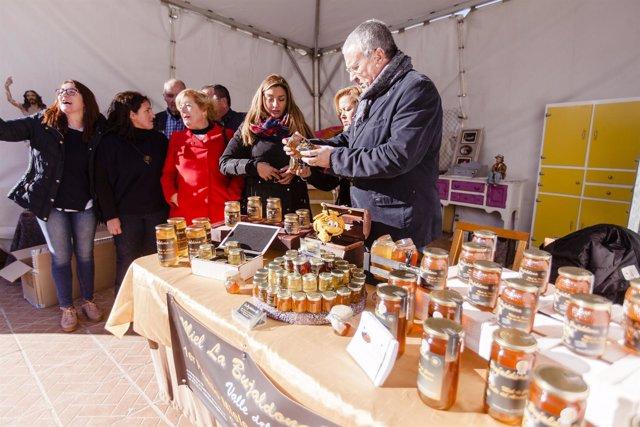Algunas empresas de 'Sabores Almería' han participado en la feria de Fines.