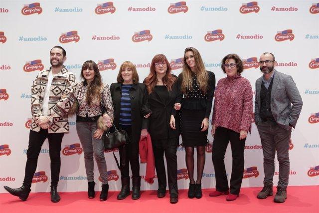 Carmen Maura en la presentación de #amodio, la campaña de Navidad de Campofrío