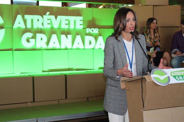 La portavoz del PP en el Ayuntamiento de Granada, Rocío Díaz.