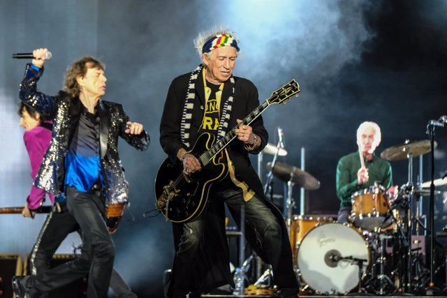Switzerland, Zurich - September 20, 2017. The Rolling Stones, the legendary Engl