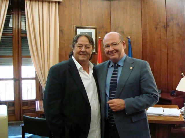 El alcalde de Jaén con Alejandro Jaén