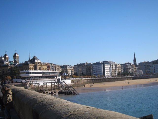 Sol y frío en Euskadi