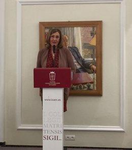 La decana del Colegio de Abogados de Madrid, Sonia Gumpert