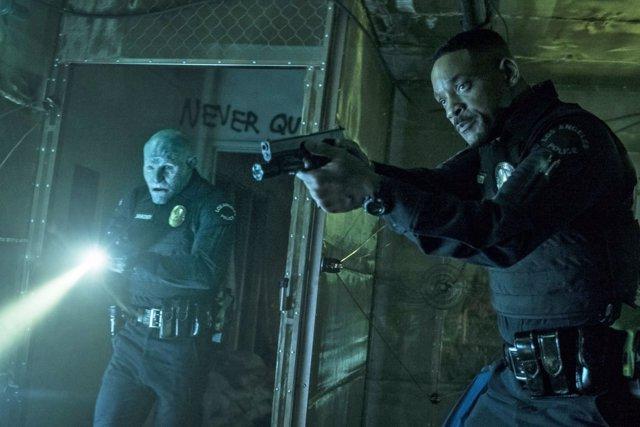 Will Smith y Joel Edgerton en Bright