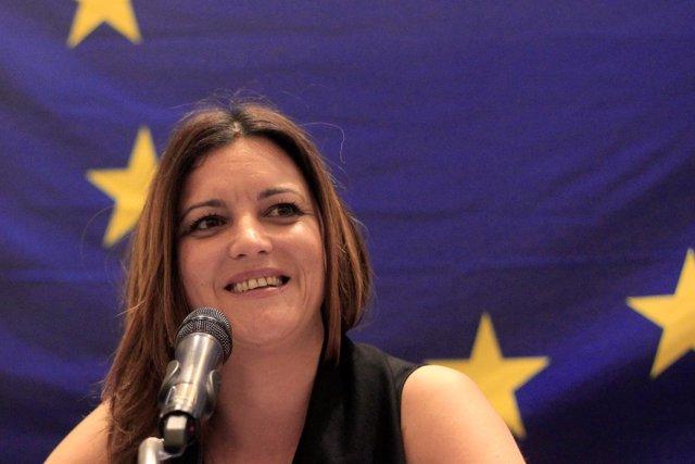 La jefa de la misión de observadores de la UE en Honduras, Marisa Matias