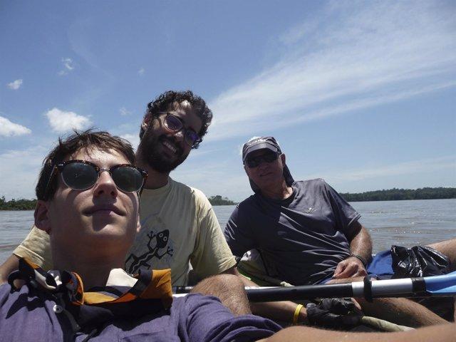 Investigadores cubren la ruta de Francisco de Orellana por el río Napo