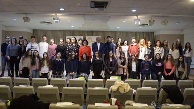 Entrega de premios del concurso de mircorrelatos contra la violencia de género
