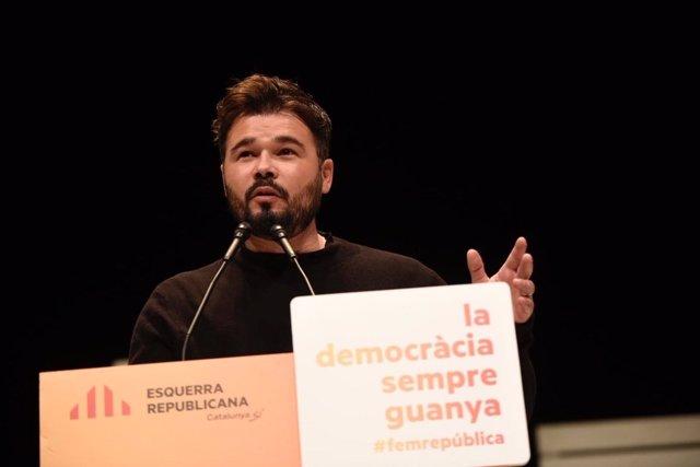 G.Rufián, ERC